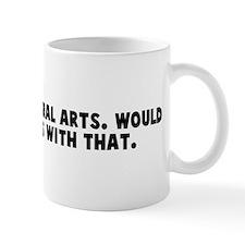 I majored in liberal arts Wou Mug