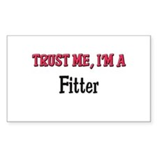 Trust Me I'm a Fitter Rectangle Decal