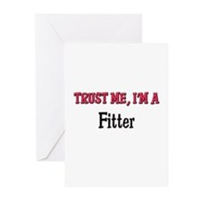 Trust Me I'm a Fitter Greeting Cards (Pk of 10)
