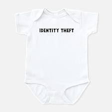 Identity theft Infant Bodysuit