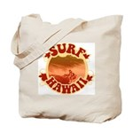 Surf Hawaii Tote Bag