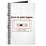 Love Is Mix Tapes Journal