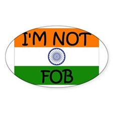 India fob Pride Fob Oval Decal