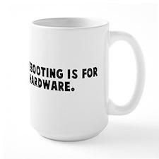 Linux because rebooting is fo Mug