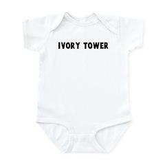 Ivory tower Infant Bodysuit