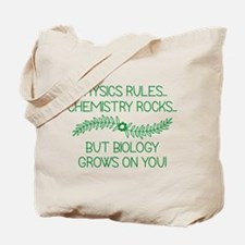 Biology Grows On You Tote Bag