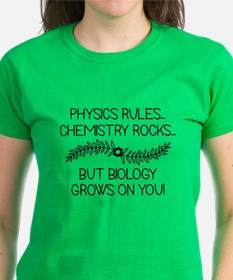 Biology Grows On You Tee