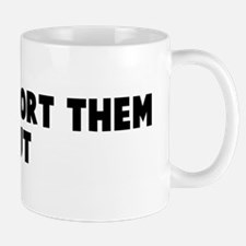 Let god sort them out Mug