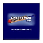 Cricket Web Tile Coaster
