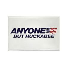 Anyone But Huckabee Rectangle Magnet