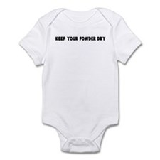 Keep your powder dry Infant Bodysuit