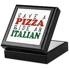 Save a Pizza Ride an Italian Keepsake Box