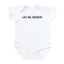 Lay on macduff Infant Bodysuit