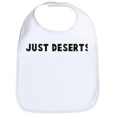 Just deserts Bib