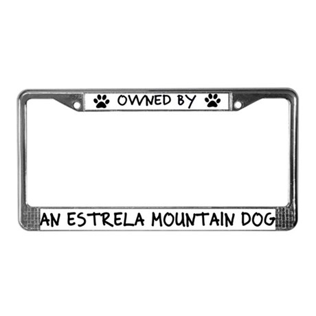 Owned by an Estrela License Plate Frame