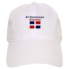 #1 Dominican Grandma Baseball Cap