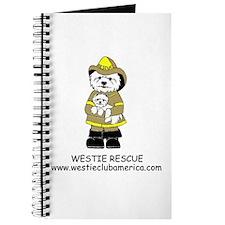 Nat'l Westie Rescue Gold Logo Journal