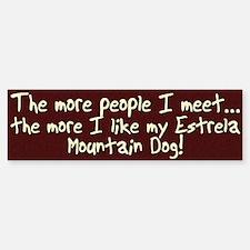 The More People Estrela Bumper Bumper Bumper Sticker