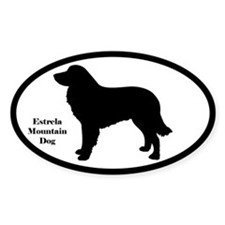 Estrela Mountain Dog Silhouette Decal