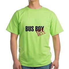 Off Duty Bus Boy T-Shirt