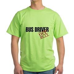 Off Duty Bus Driver T-Shirt