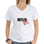 Off Duty Butler Women's V-Neck T-Shirt
