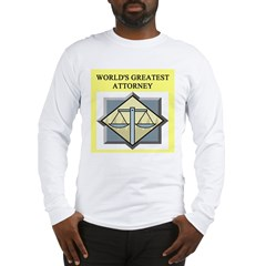 attorney lawyer gifts t-shirt Long Sleeve T-Shirt