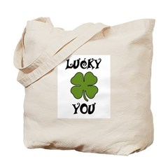 LUCKY YOU COWBOY HAT Tote Bag