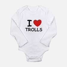 I love trolls Body Suit