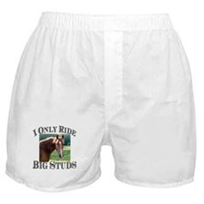 I Only Ride Big Studs (Photo) Boxer Shorts