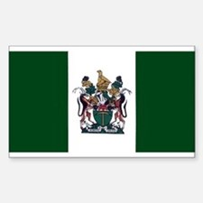 Rhodesian Flag Rectangle Bumper Stickers