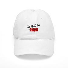 """""""The World's Best Backup Singer"""" Baseball Cap"""