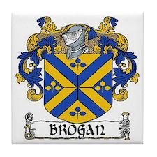 Brogan Coat of Arms Tile Coaster