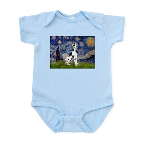 Starry Night & Great Dane (Harl.) Infant Creeper