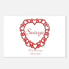 Swissy True Postcards (Package of 8)