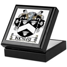Buckley Coat of Arms Keepsake Box