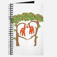 Cute Orangutan Journal