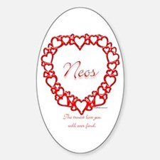 Neo True Oval Decal