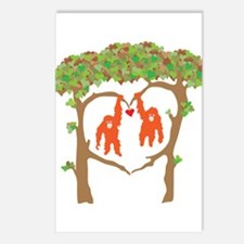 Cute Orangutans Postcards (Package of 8)
