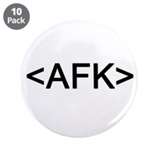 """<AFK> Away From Keyboard 3.5"""" Button (10 pack)"""