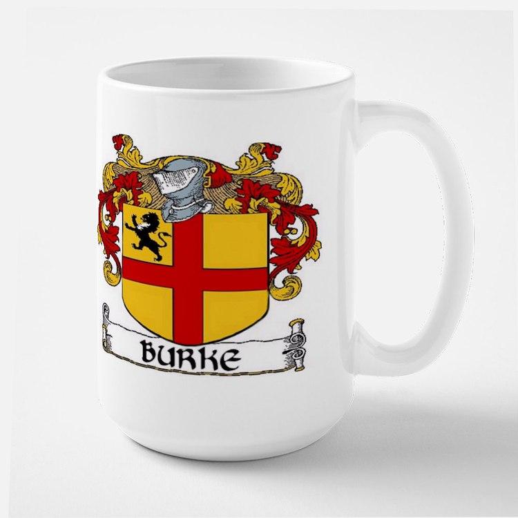 Burke Coat of Arms Large Mug