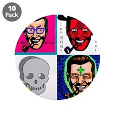 """Funny Church 3.5"""" Button (10 pack)"""