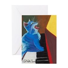 jazzcat-grt-card Greeting Cards