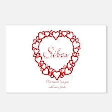 Sibe True Postcards (Package of 8)
