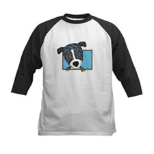 Cartoon Catahoula Leopard Dog Tee