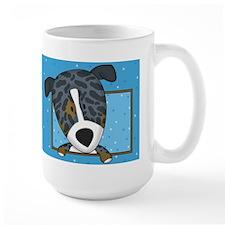 Cartoon Catahoula Leopard Dog Mug