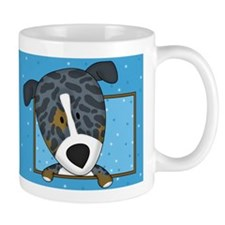 Cartoon Catahoula Leopard Dog Mug