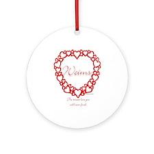 Weim True Ornament (Round)