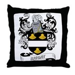 Bright Coat of Arms Throw Pillow