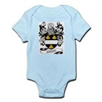 Bright Coat of Arms Infant Creeper